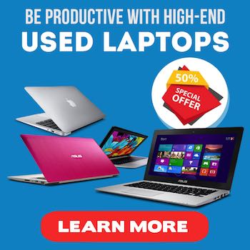 Excellent used laptops to increase productivity